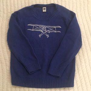Janie and Jack Airplane Sweater